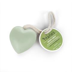 Savon cœur au lait d'ânesse biologique Aloe Vera 100 g