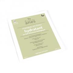 Masque en tissu au lait d'ânesse biologique Hydratant 20 ml