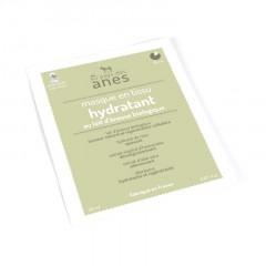 Masque en tissu au lait d\'ânesse biologique Hydratant 20 ml