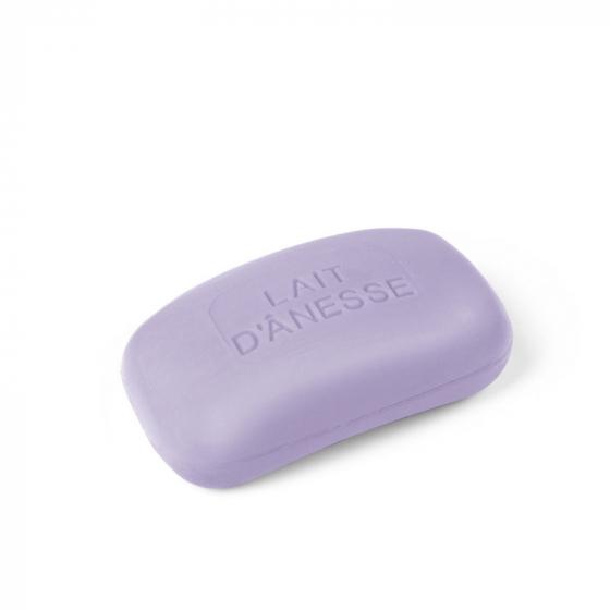 Savon concave au lait d'ânesse biologique Violette 125 g